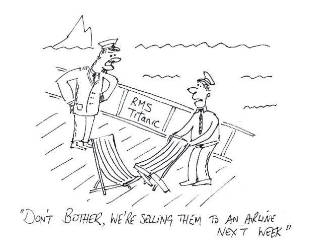 Are you rearranging deckchairs on the Titanic? Taking corporate risk management seriously