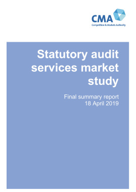 Response to consultation on Market Study on Statutory Audit Services